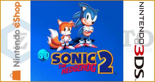3D Sonic The Hedgehog 2 3DS