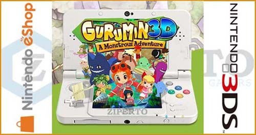 Gurumin 3D: A Monstrous Adventure 3DS