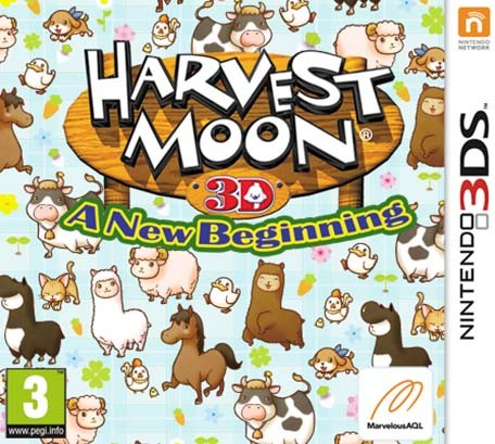 Harvest Moon 3D A New Beginning ROM