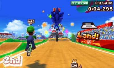 Mario & Sonic at the London 2012 Olympic Games 3DS ROM