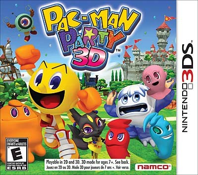 Pac-Man Party 3D 3DS ROM