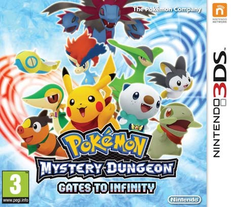 Pokemon Mystery Dungeon: Gates to Infinity 3DS ROM