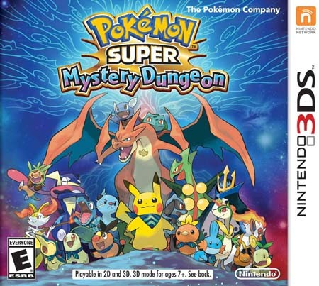 Pokemon Super Mystery Dungeon 3DS ROM