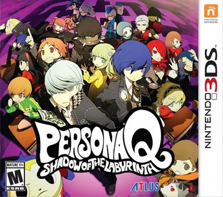 Persona Q: Shadow of the Labyrinth DLC/Update 1.2 3DS
