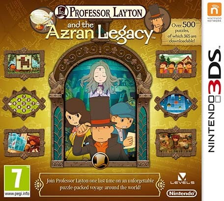Professor Layton and the Azran Legacy (UNDUB) 3DS