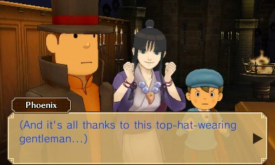 Professor Layton vs. Phoenix Wright: Ace Attorney 3DS