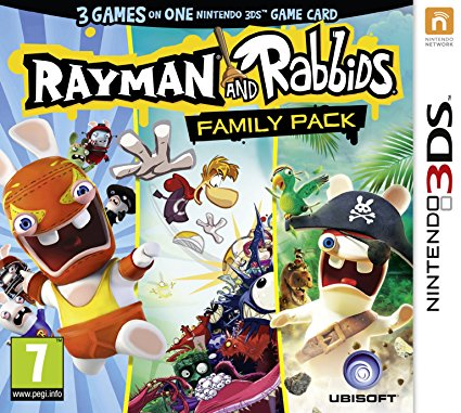 Rayman and Rabbids Family Pack 3DS ROM