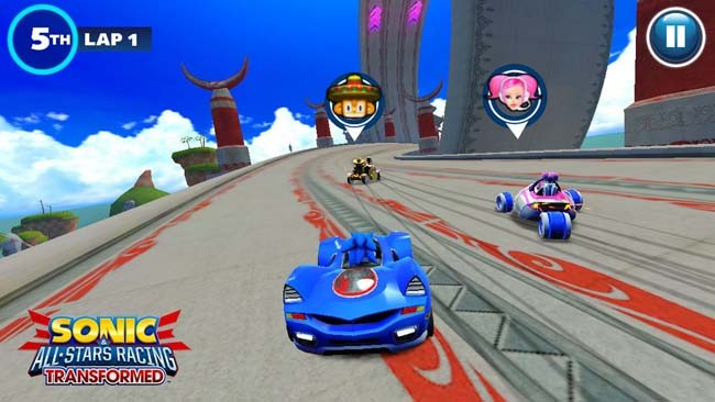 Sonic & All-Stars Racing Transformed 3DS CIA