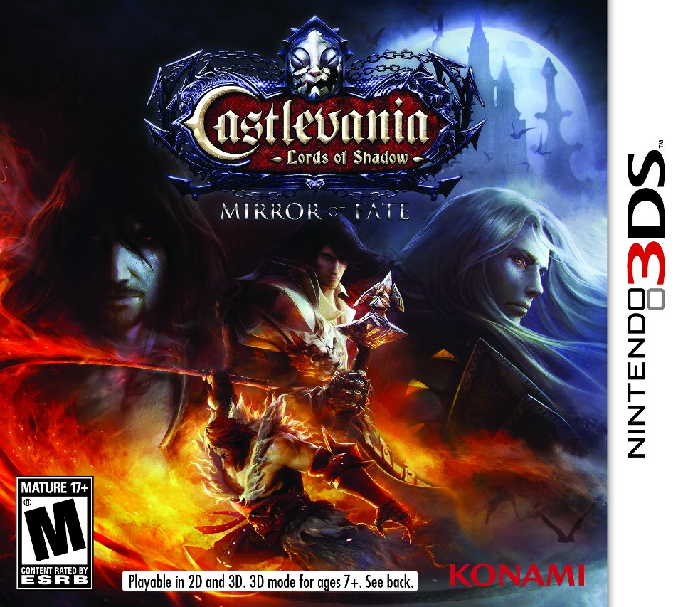 Castlevania Lords of Shadow Mirror of Fate 3DS CIA