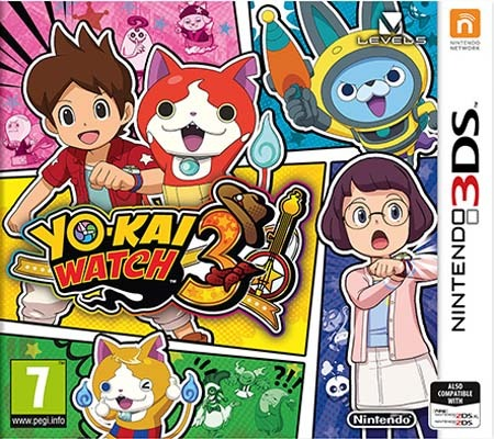 Yo-Kai Watch 3 (UNDUB) 3DS