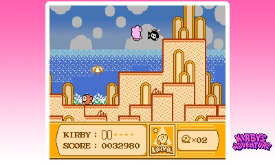 3D Classics: Kirby's Adventure 3DS