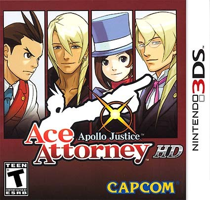 Apollo Justice: Ace Attorney 3DS