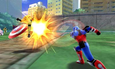 Marvel Disk Wars: Avengers Ultimate Heroes 3DS