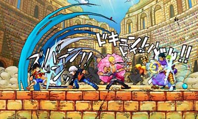 One Piece: Super Grand Battle! X Update 1.5 3DS