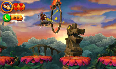 Donkey Kong Country Returns 3ds cia