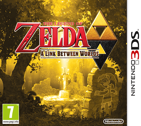 The Legend of Zelda a Link Between Worlds 3DS CIA
