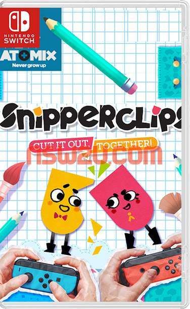 Snipperclips Plus - Cut it out Together Switch NSP XCI NSZ