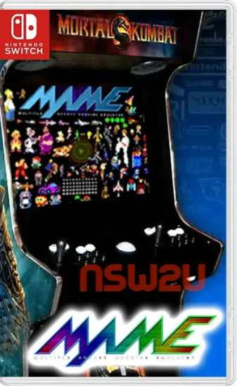 Arcade machines (MAME) Emulator + 4859 ROM Switch NSP