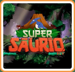 Super Saurio Fly Box Art