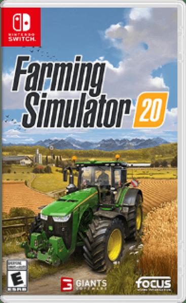 Farming Simulator 20 Box Art
