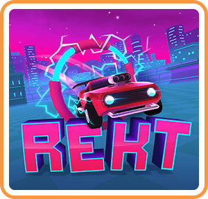 REKT! High Octane Stunts Box Art