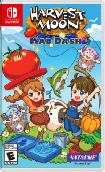 Harvest Moon: Mad Dash Box Art