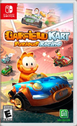 Garfield Kart Furious Racing Box Art