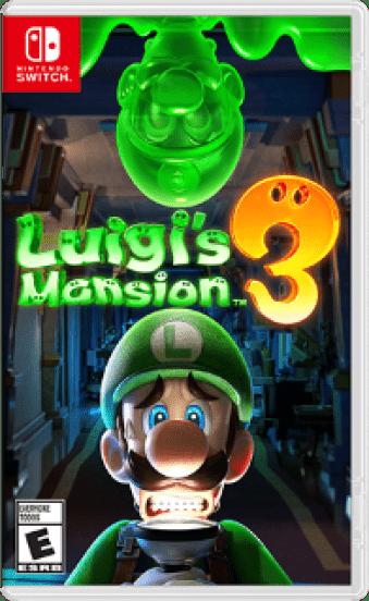 Luigi's Mansion™ 3 Box Art