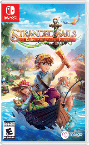 Stranded Sails - Explorers of the Cursed Islands Box Art