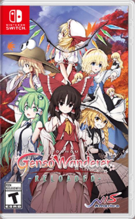 Touhou Genso Wanderer Reloaded Box Art