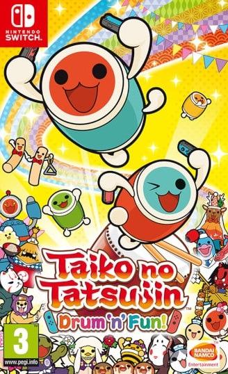 Taiko no Tatsujin Drum 'n' Fun! Switch NSP